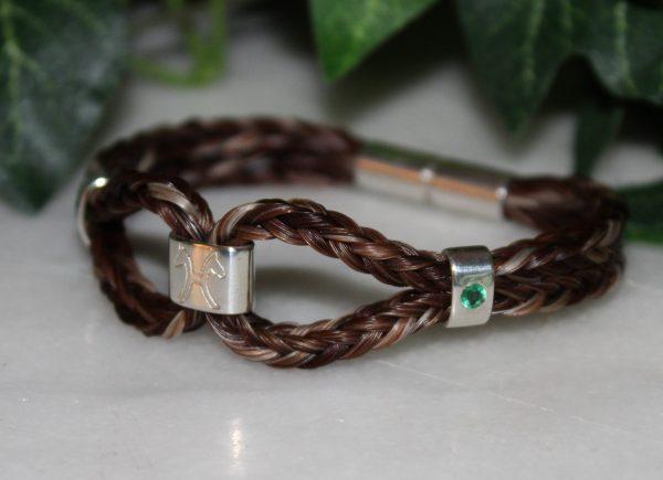 Aureas-Nobilis-Schmuck-mit-Pferdehaar-Schweifhaar-Armband-geflochten-112363