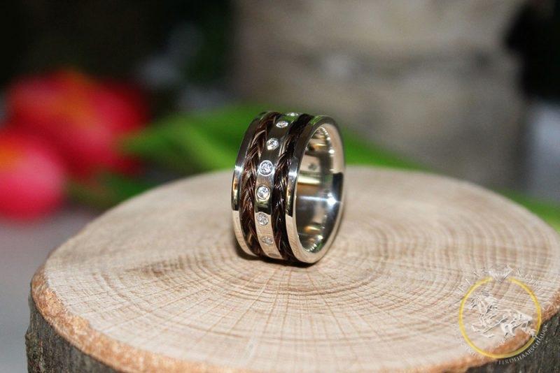 Ring 935er Silber 10mm Breit Aureas Nobilis