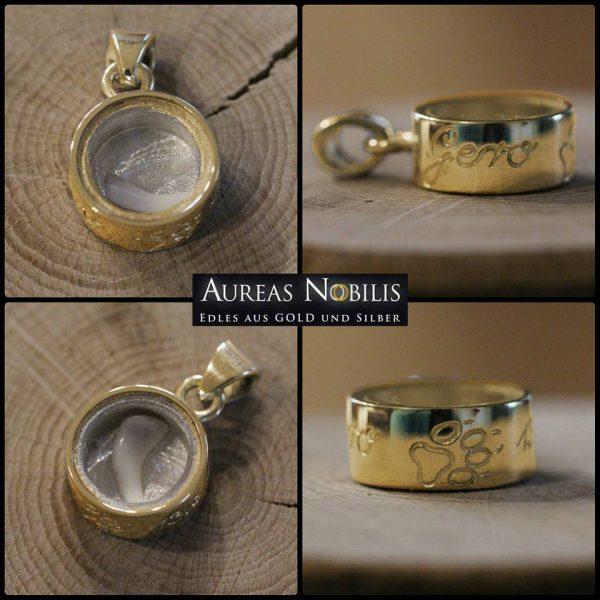 Aureas-Nobilis-Schmuck-mit-Pferdehaar-Schweifhaar-Anhänger-12