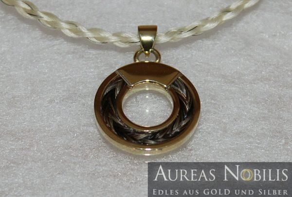 Aureas-Nobilis-Schmuck-mit-Pferdehaar-Schweifhaar-Kettenanhänger-34777