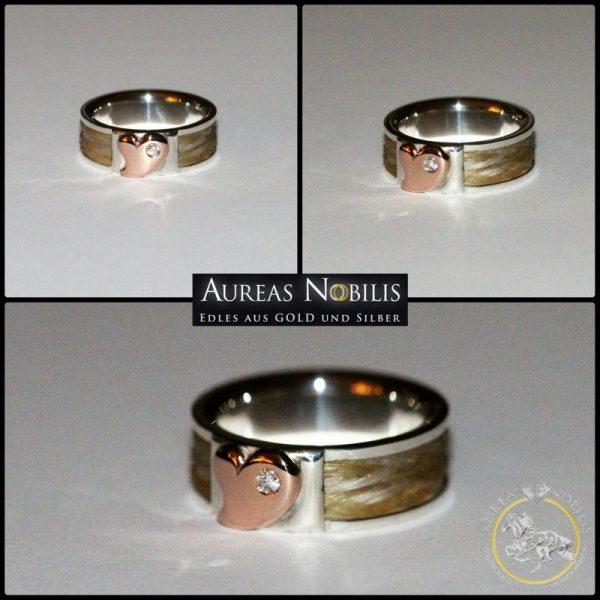 Aureas-Nobilis-Schmuck-mit-Pferdehaar-Schweifhaar-Ring-750